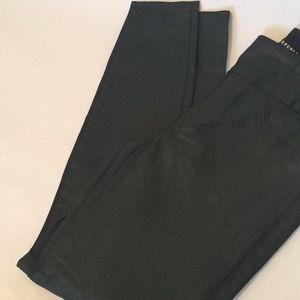 Rock & Republic dark teal green pullon legging